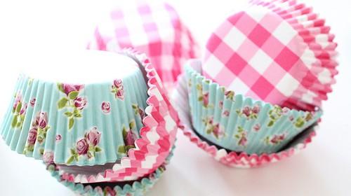 Muffinförmchen für Cupcake finden