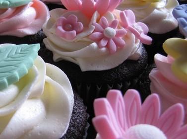 Dekoration für den Cupcake
