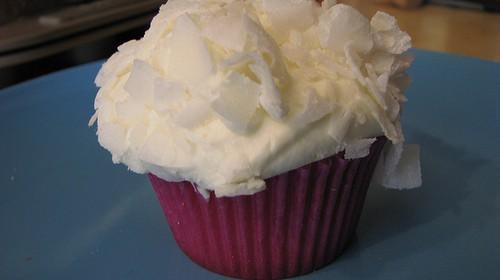 Kokosnuss-Cupcake