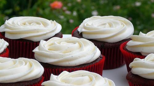 Schneller Johannisbeer-Cupcake
