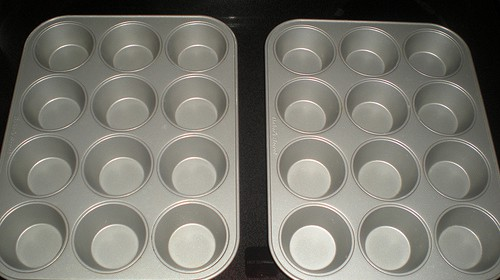 Cupcakes mit Muffinblech backen