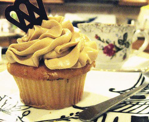 Cupcake mit Kaffee-Geschmack