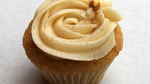 Einfacher Bananen-Cupcake